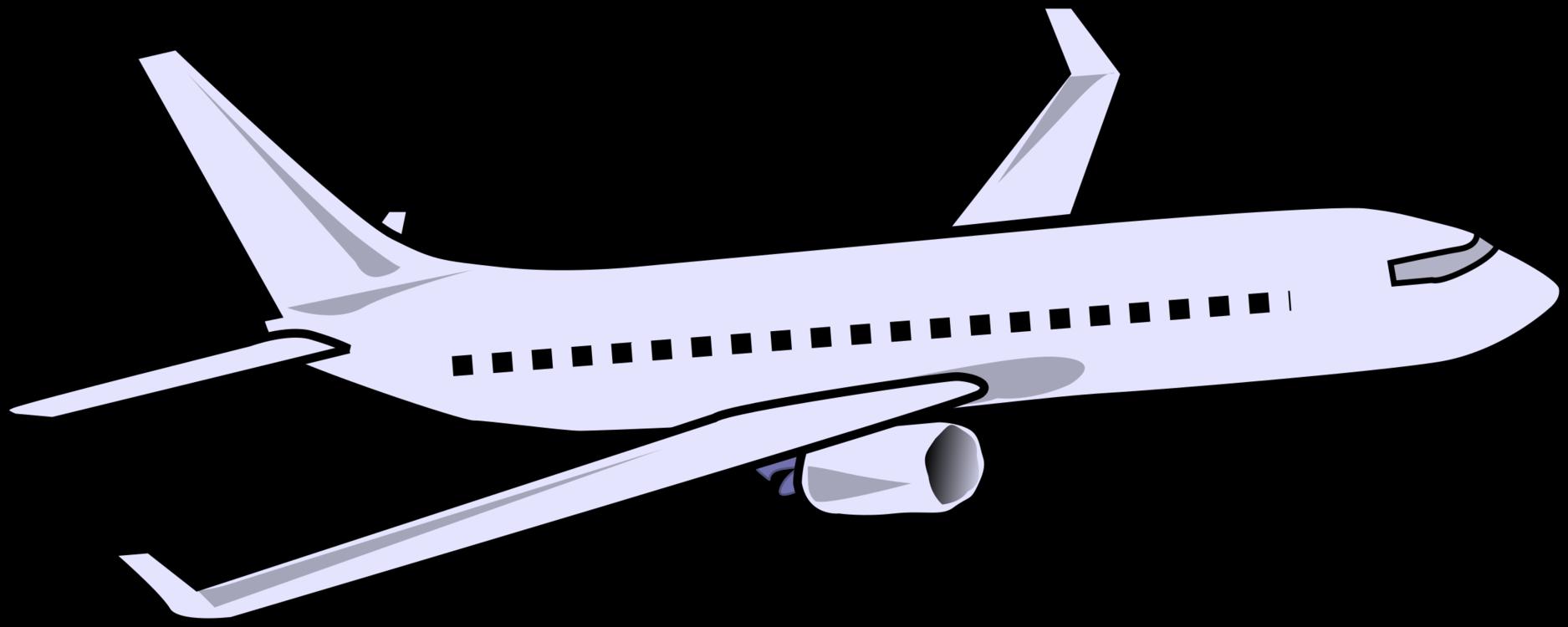 Line Art,Line,Jet Aircraft Vector Clipart.