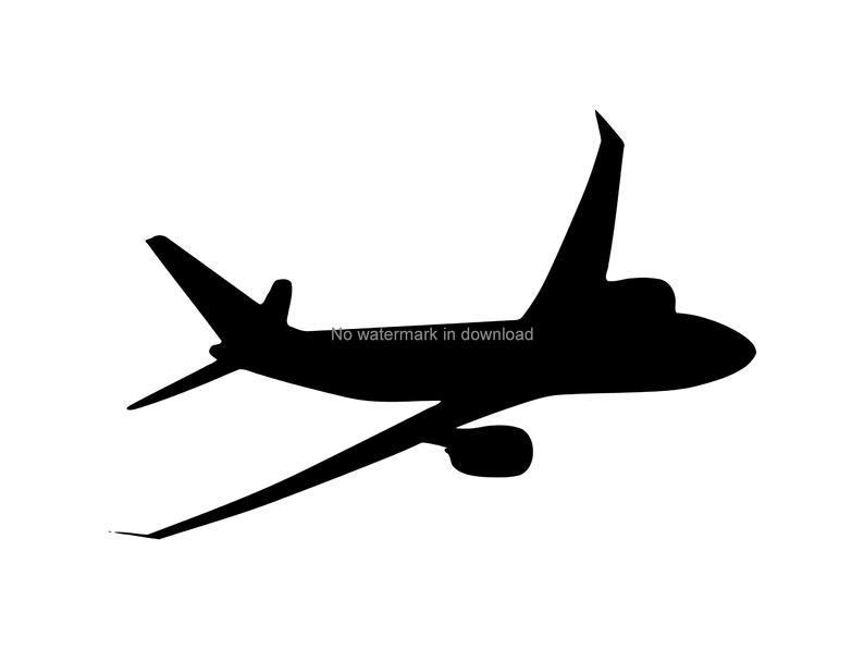 Plane Clipart Airplane Clipart Planes Clip Art Airplane Svg Plane Svg  Instant Download Plane Silhouette Aircraft Svg, Aircraft Clipart.