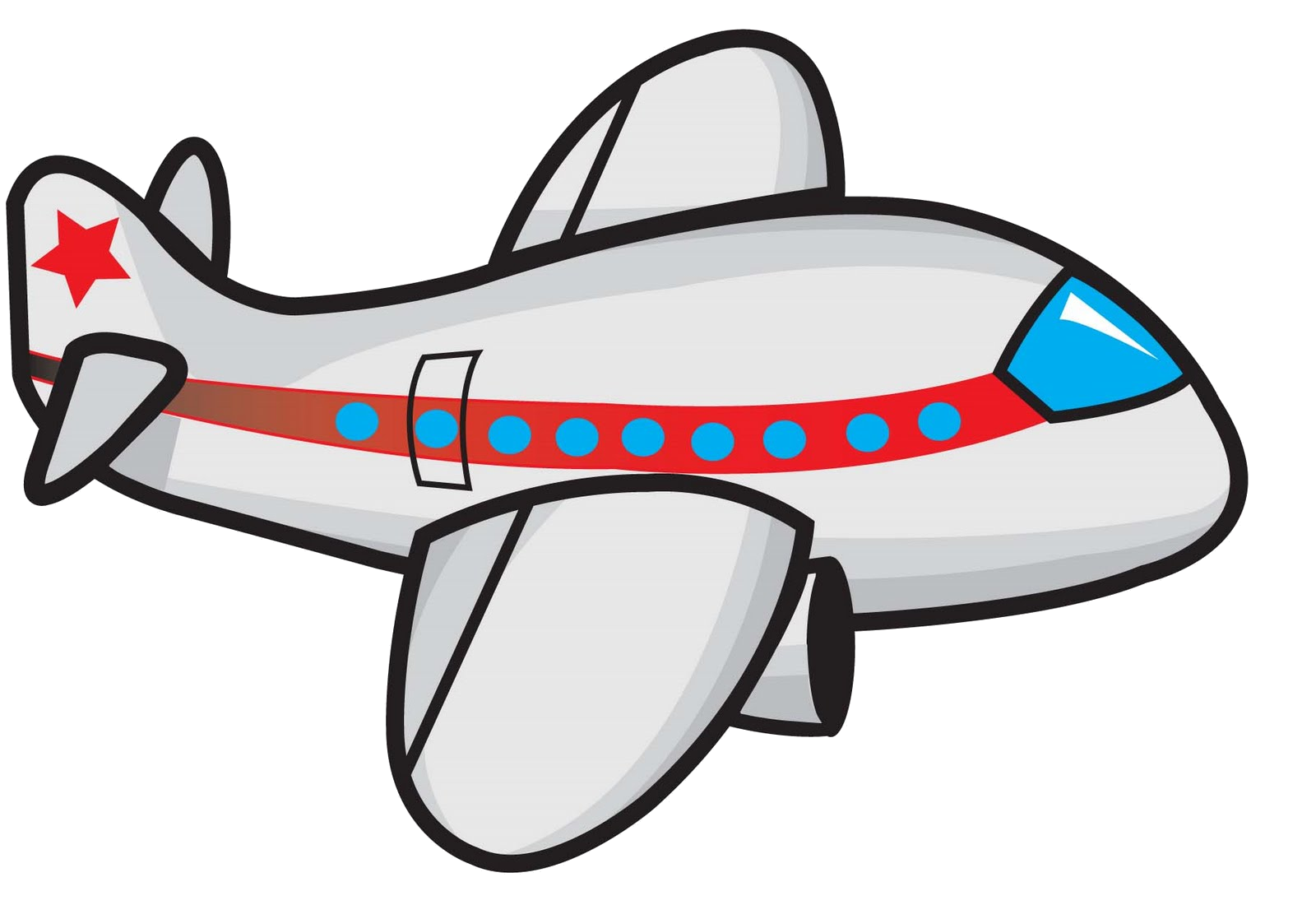 Airplane Cartoon Clipart Free Images Transparent Png.
