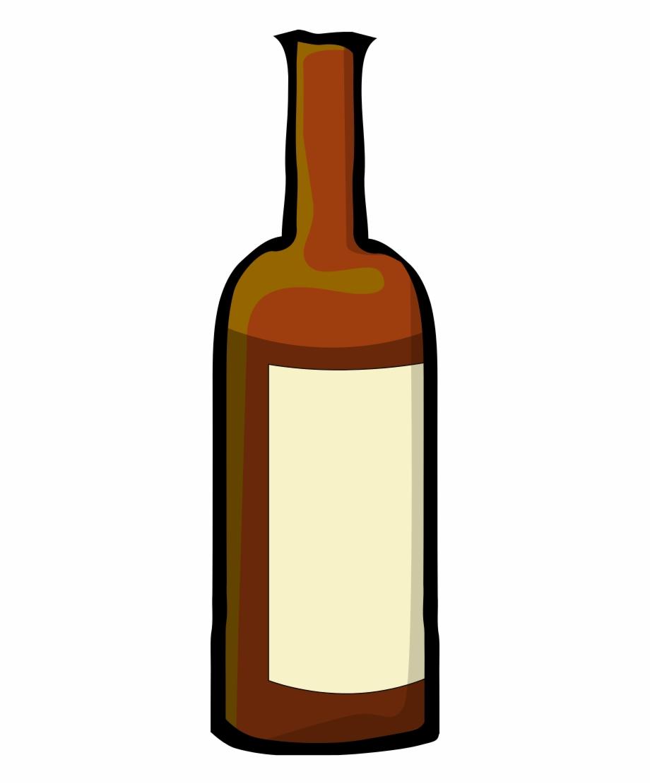 Wine, Bottle, Cartoon, Drink, Alcohol, Bottles.
