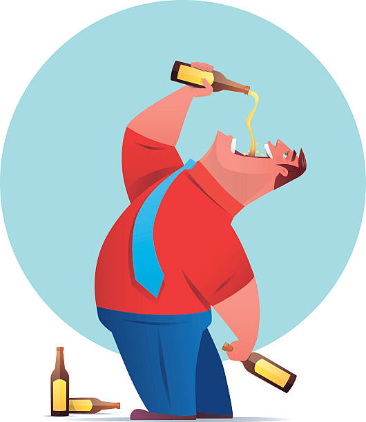 Best Alcohol Abuse Illustrations, Royalty.