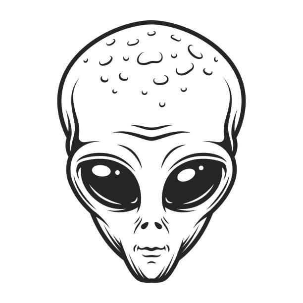 Best Alien Illustrations, Royalty.
