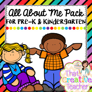 All About Me Pack for Pre.