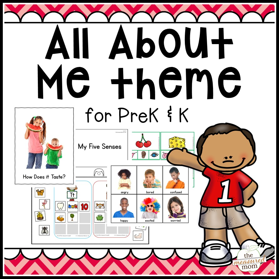 All About Me Theme Pack for Pre.