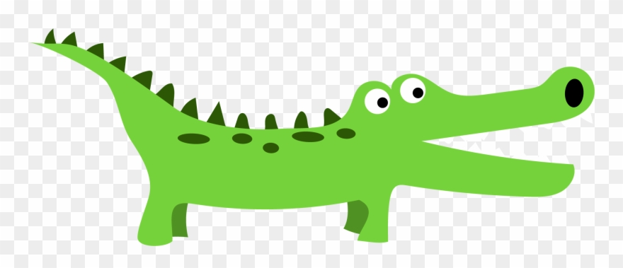 Clipart Alligator Strong.