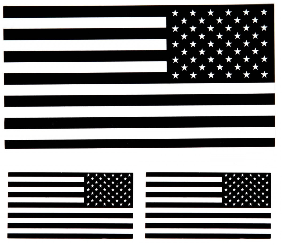 Distressed American Flag Clipart Black And White Png.