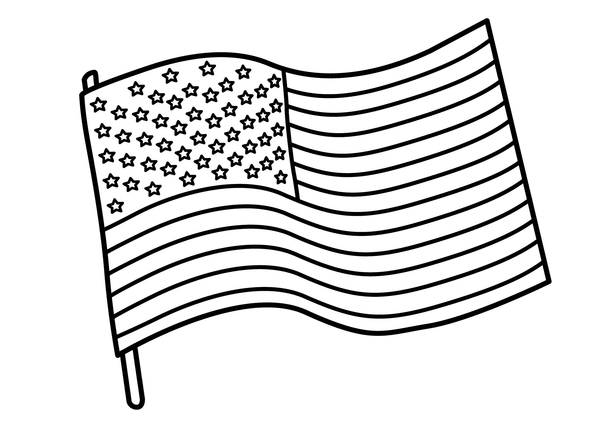 Huge Collection of 'American flag black and white drawing'. Download.