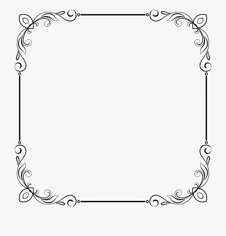 Elegant Frame Clip Art.