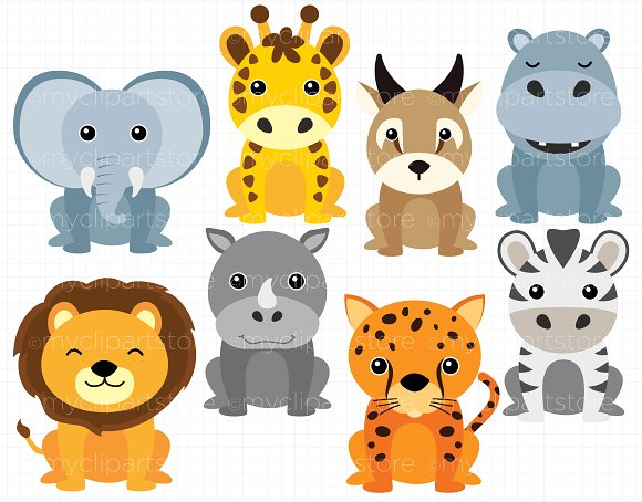 Collection of 14 free Africa clipart animal aztec clipart vintage.
