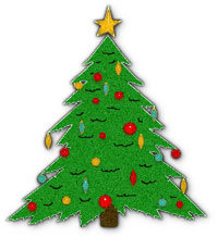Free Christmas Tree Graphics.