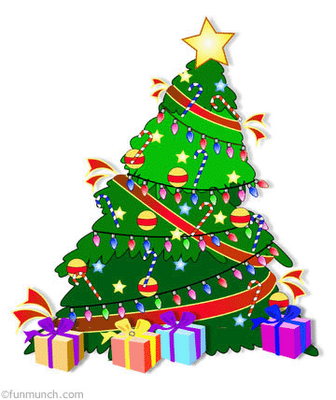 Christmas Tree Clipart Animated.