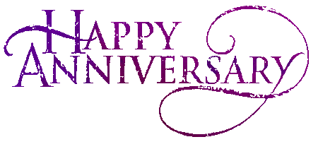 Animated Happy Anniversary Clip Art.