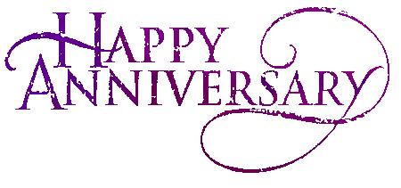Animated Happy Anniversary Clip Art.