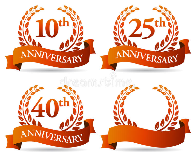 Anniversary Stock Illustrations.