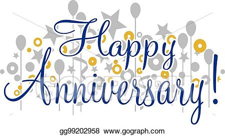 Happy anniversary banner clipart 5 » Clipart Station.