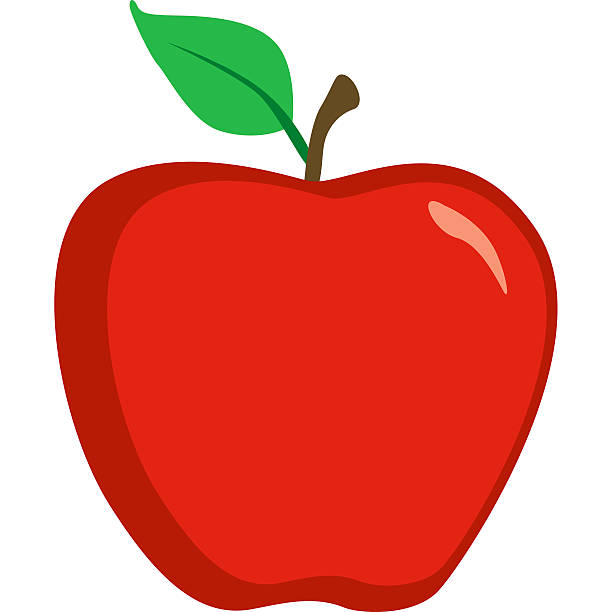 Best Red Apple Illustrations, Royalty.