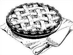 Free apple pie clipart 3.
