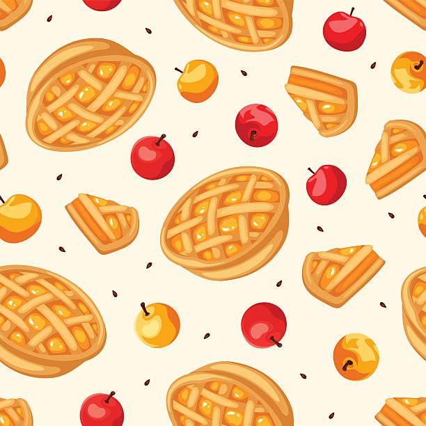 Best Apple Pie Illustrations, Royalty.