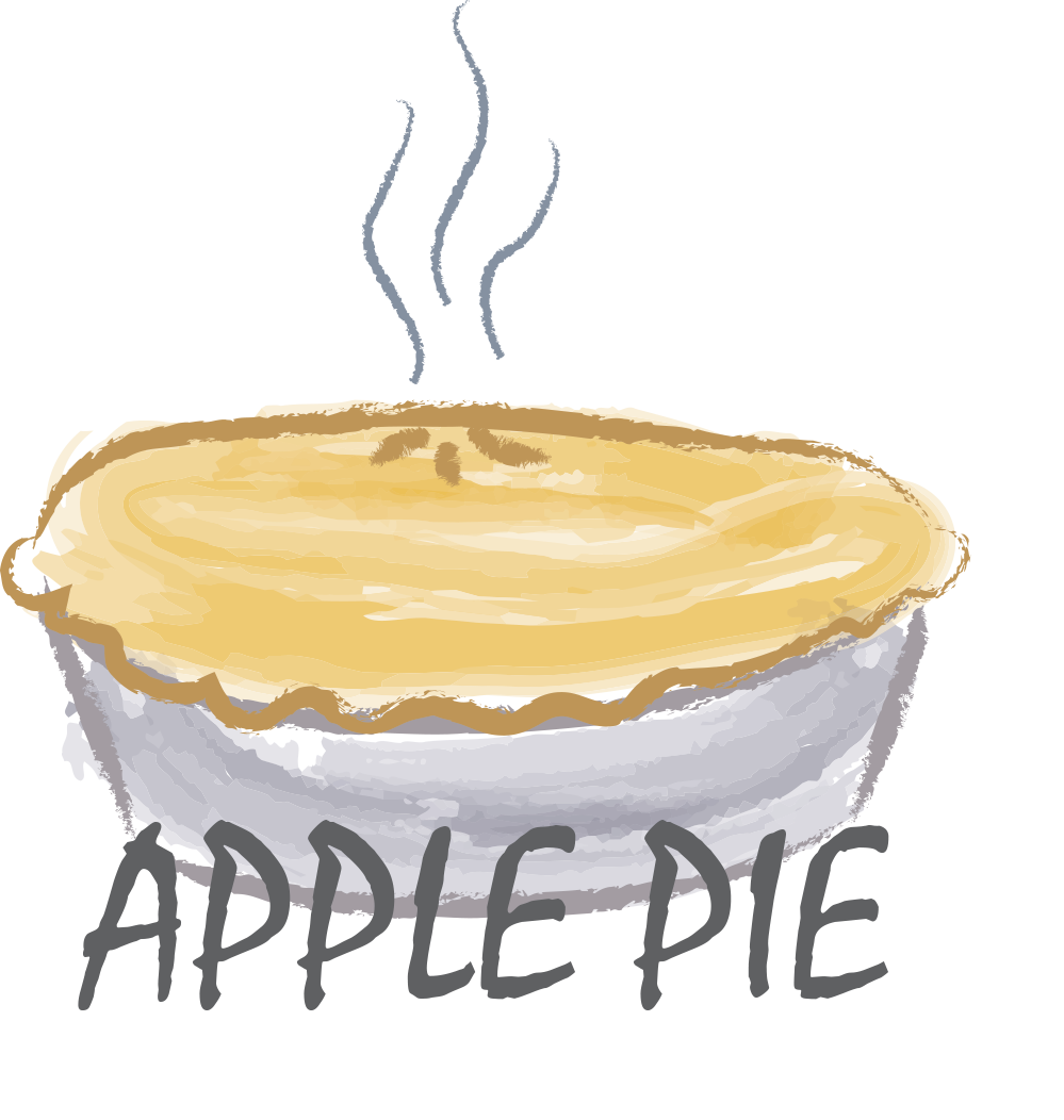 free clipart apple pies.