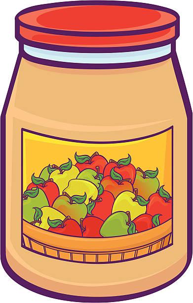 Apple Sauce Illustrations, Royalty.