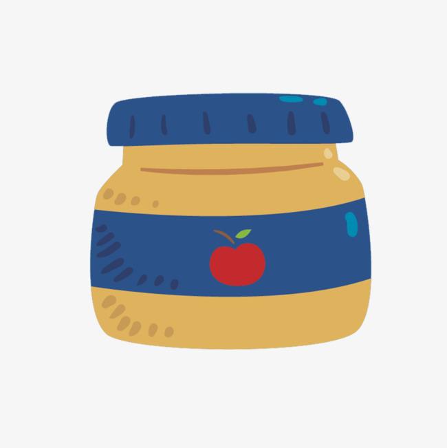 Applesauce Baby Food Supplement Vector Material, Baby Vector, Food.