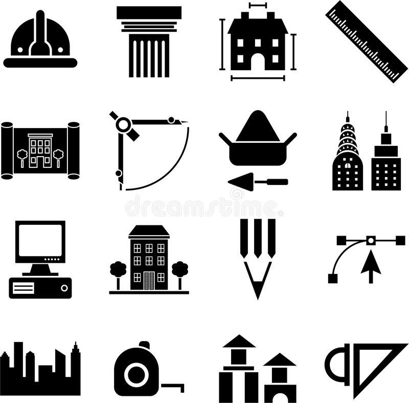 Architectural Symbols Stock Vectors Vector #199341.