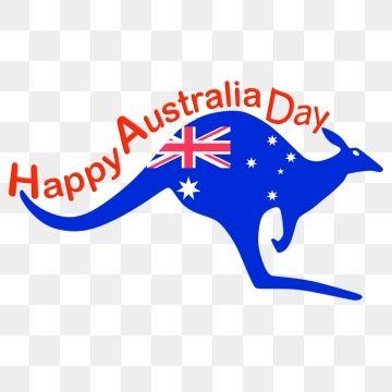 Kangaroo Happy Australia Day Flag, Australia Day, Happy Australia.
