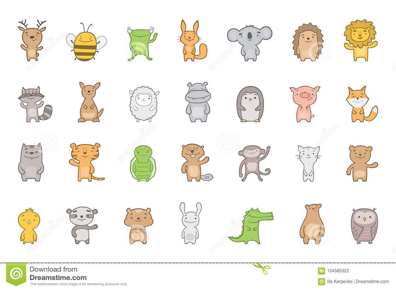 clip art baby animals #3