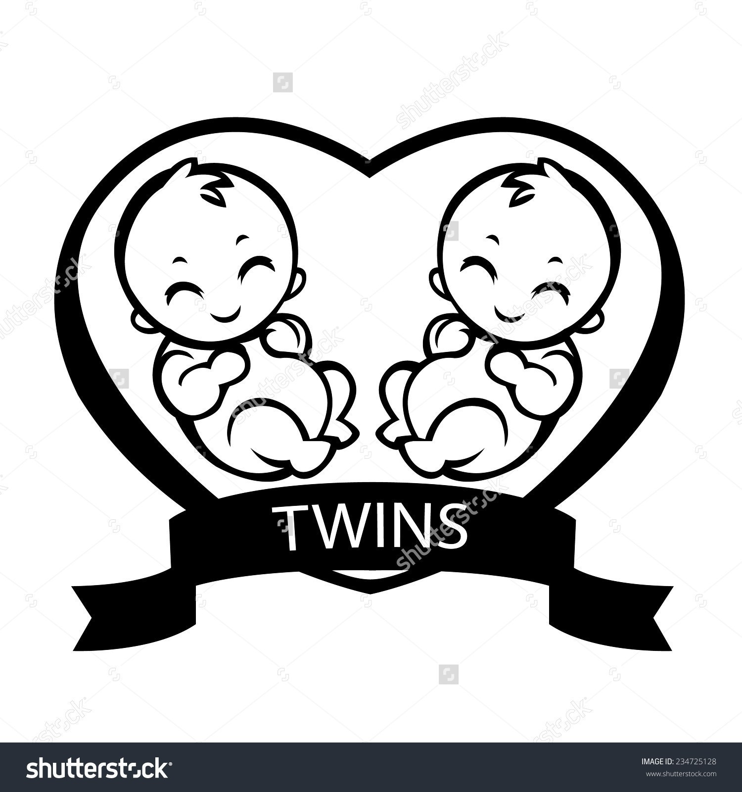 Twin Baby Feet Clip Art 71 To Draw Shoes For Twins.