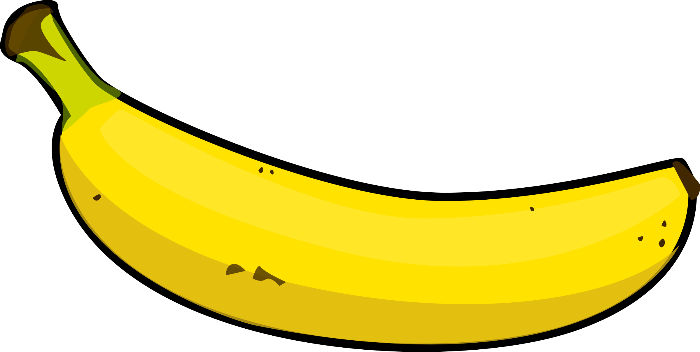 Good Banana Clipart & Look At Banana Hq Clip Art Images.