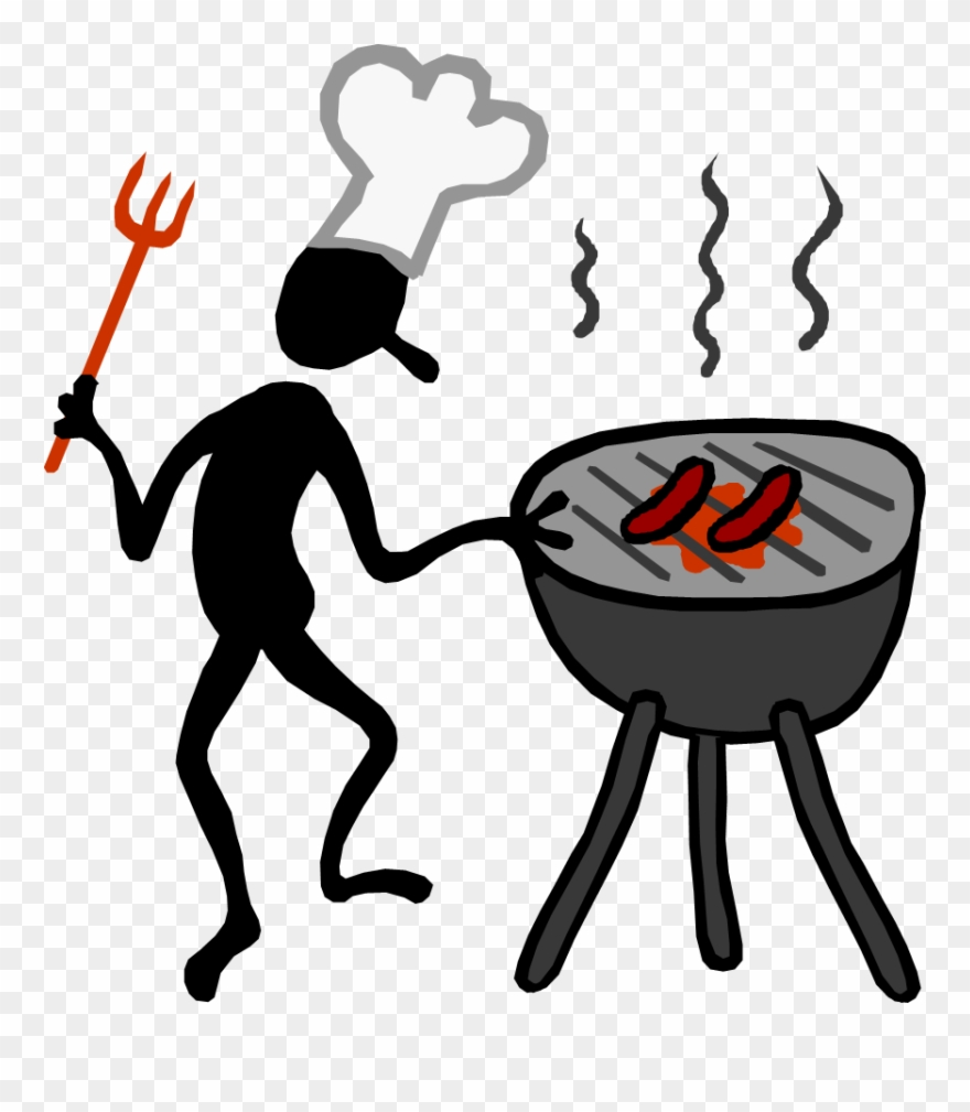 Barbecue Grill Clip Art.