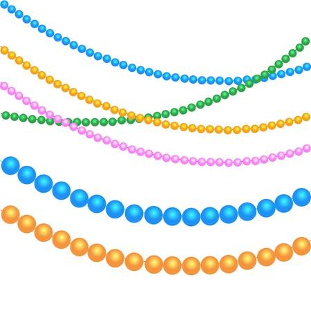 1,157 String Of Beads Cliparts, Stock Vector And Royalty Free String.