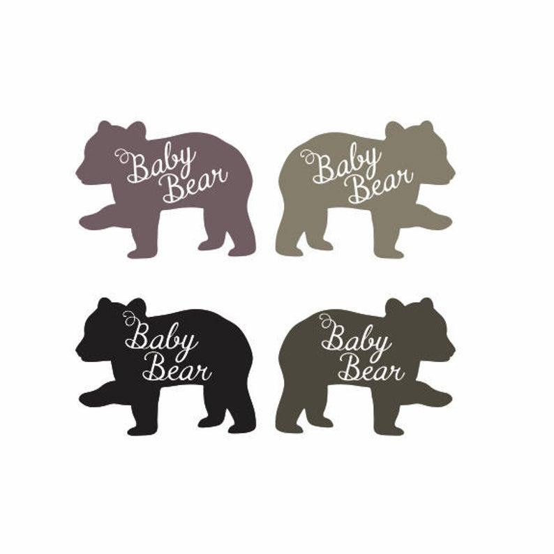 Bear Cub II Clip art.