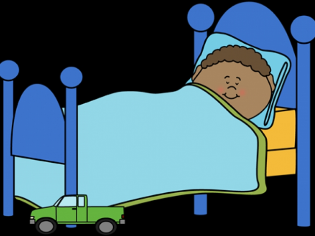 Clipart Of Kiss At Bedtime.