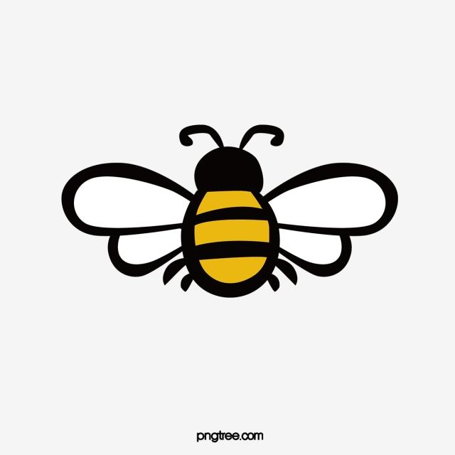 Cartoon Bee Design, Bee Clipart, Bee Design, Cartoon Animal PNG and.
