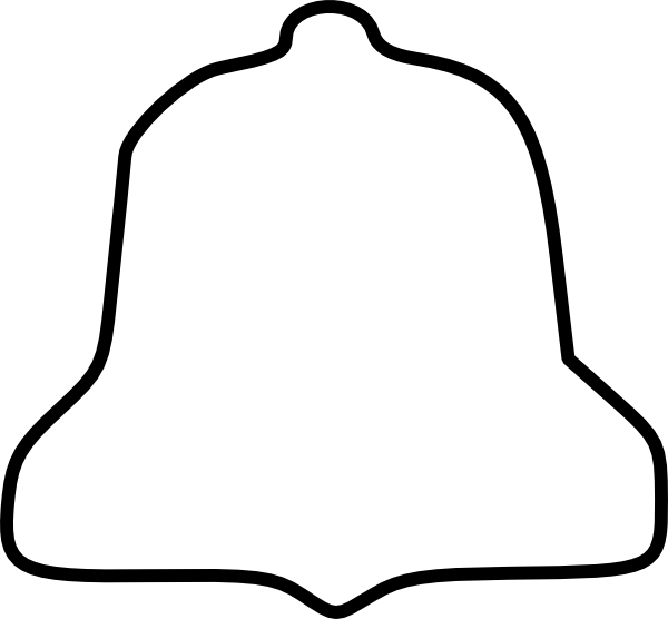 Free Bell Outline Cliparts, Download Free Clip Art, Free Clip Art on.