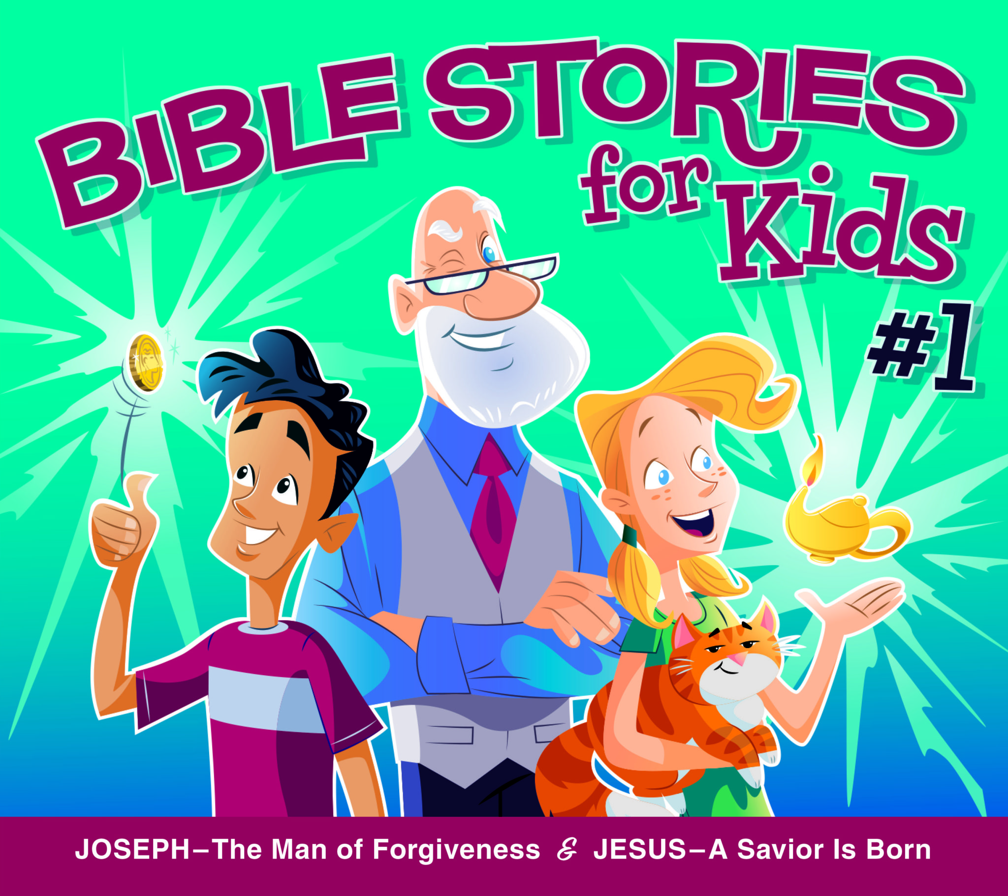 Bible STORIES for Kids #1 Listening CD.