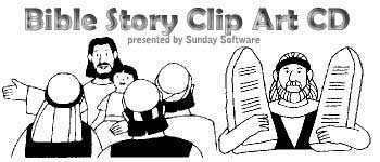 Bible Story Clipart CD.