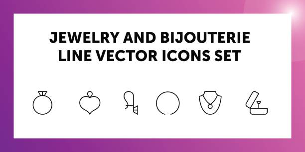 Bijou Personal Accessory Clip Art, Vector Images & Illustrations.