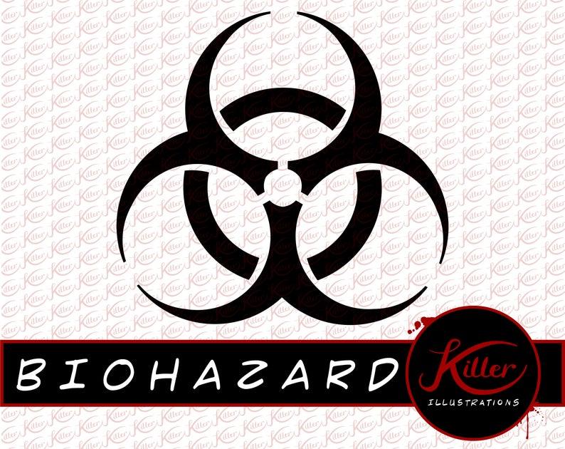 Biohazard Symbol Vector.