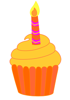 14 cliparts for free. Download Candle clipart birthday cupcake.