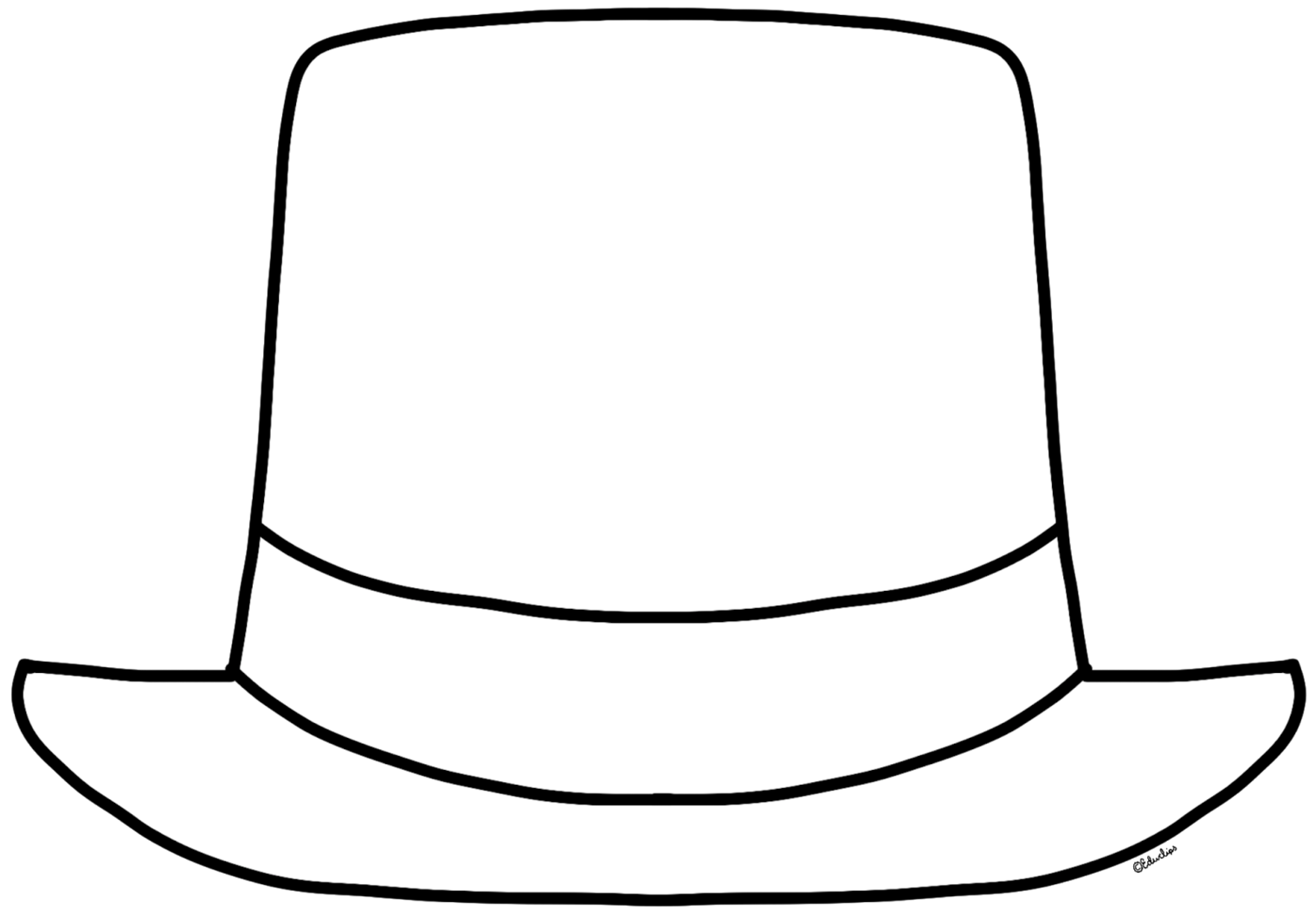 Monochrome clipart hat pencil and in color monochrome png.