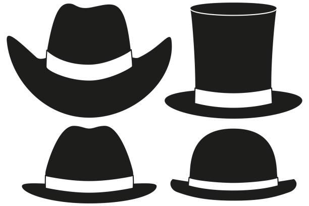 Best Black Cowboy Hat Illustrations, Royalty.