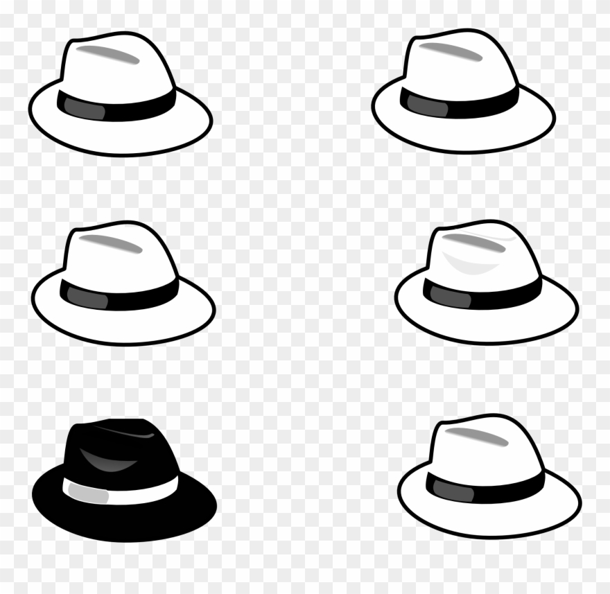 Trends For Hat Clip Art Black And White.