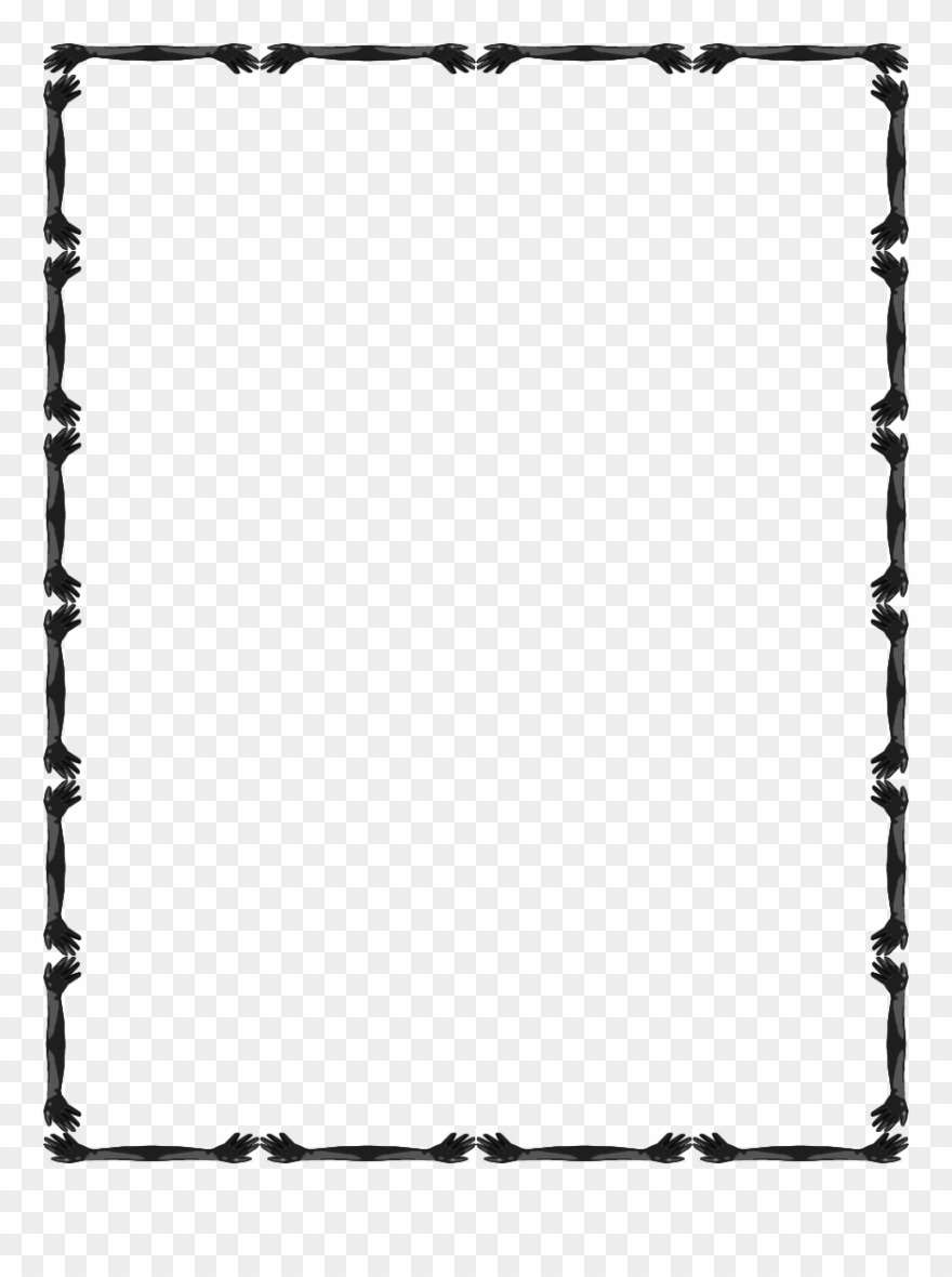 Simple Line Border Clipart Clipart.