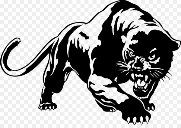 Black panther Cougar YouTube Clip art.