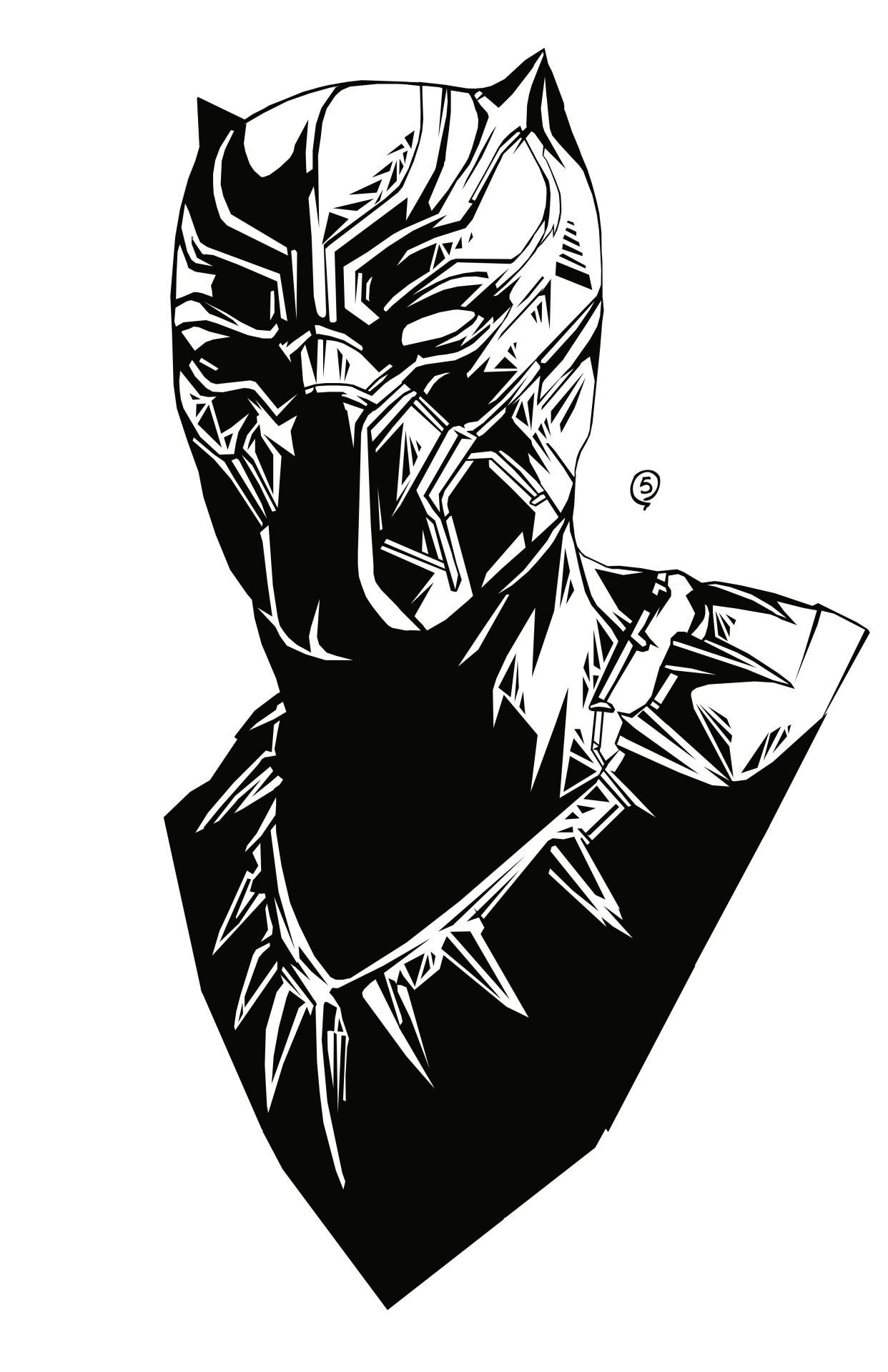 Black panther movie clipart 4 » Clipart Station.