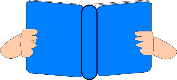 Blue Book Clip Art at Clker.com.