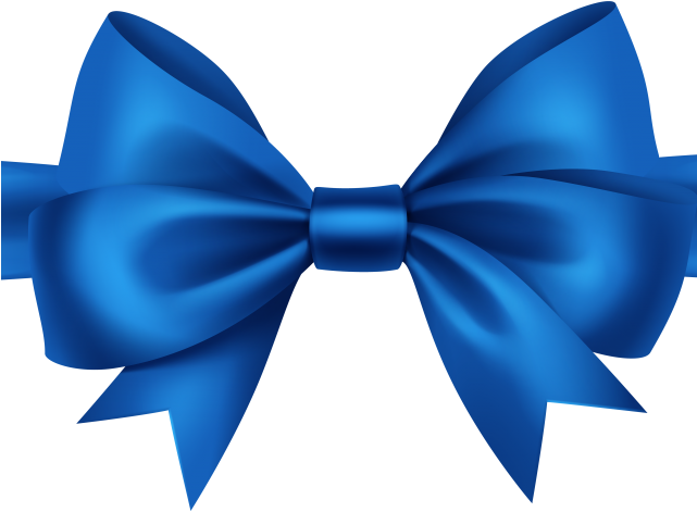 Ribbons Clipart Blue.