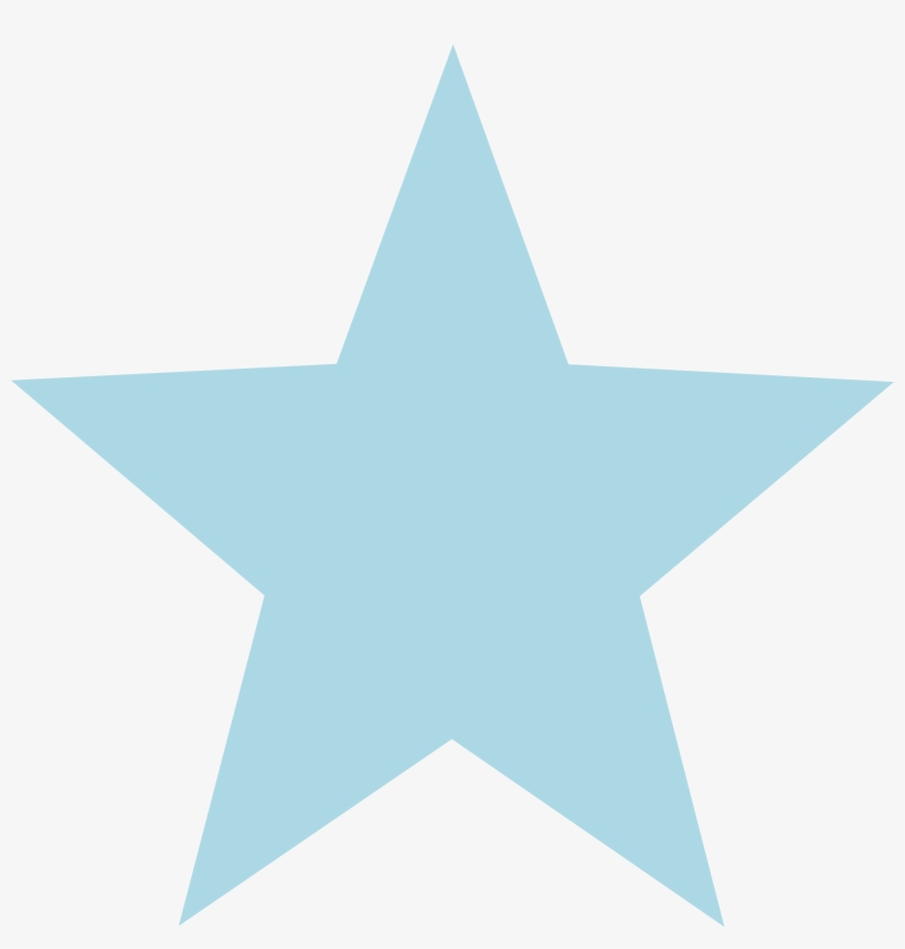 28 Collection Of Light Blue Star Clipart.